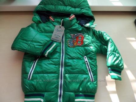 Демисезонная Фирменная Немецкая  куртка бомбер E-BOUND р-р104. Оригинал