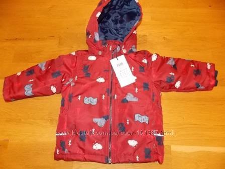 Красивая Демисезонная Куртка Name It куртка Nitmellon р-р 86. Оригинал