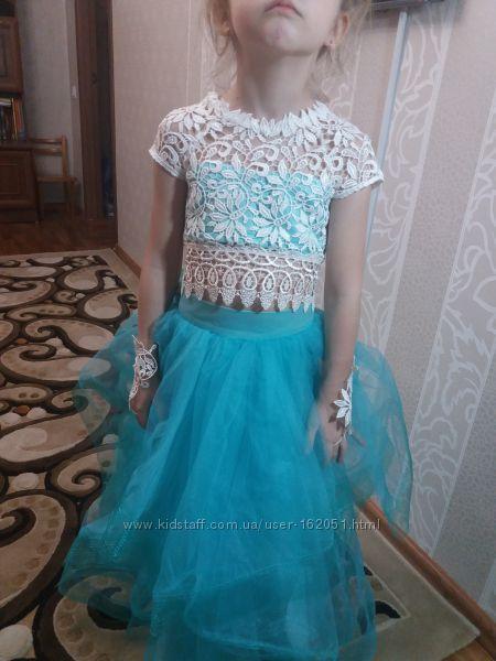 Красивое выпускной платье