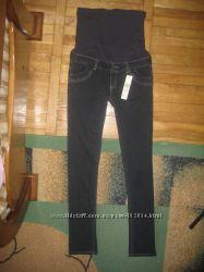 Нові шикарні якісні брендові джинси для вагітних DENIM