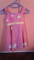 Красивые летние платья сарафаны 2-5 лет