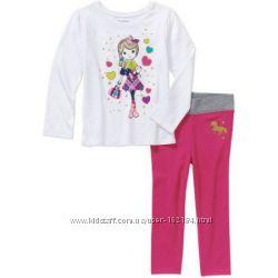 Новые комплекты девочке  3Т, 4Т, 5Т от Garanimals, США