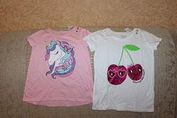 Новые футболки девочке 4, 5, 6, 14, 16 лет от Childrens place