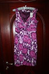 Новое яркое платье 36 евроразмер, наш 42-44 от H&M