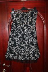 Нарядное платье бюстье 10, 12, XS, S размер от H&M, F&F