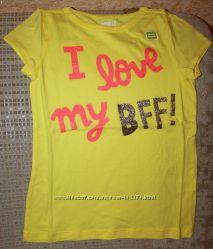 Новые футболки девочке 4, 5, 5-6, 7-8, 10-12 лет от Crazy8, Gymboree Сша