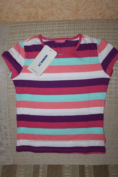 Новые  футболки девочке 5-6, 11, 12, 13, 14 лет от lc waikiki