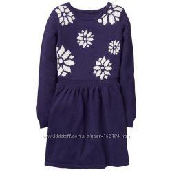 Новые теплые платья 5-6, 7, 8, 10,  14 от Gymboree, США