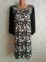 Красивое вискозное платье 16, 18, 20 размер, наш 50, 52, 54 от Next