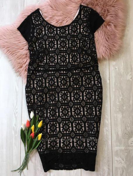 Кружевное платье 46 евроразмер от Yessica