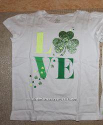 Новые футболки девочке 3-16 лет от Childrens place