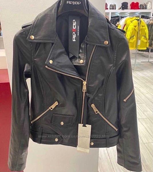 Косуха курточка FloClo Италия мягкая кожа