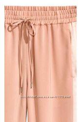 Супер модные брюки джогерсы пудрового цвета H&M