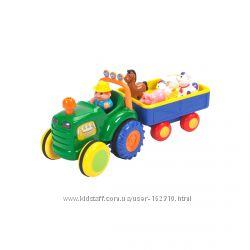Игрушка на колесах - Трактор с трейлером Kiddieland украинский