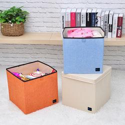 Складной ящик без крышки. Корзина для игрушек и белья.