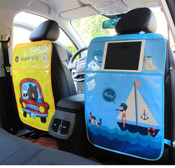 Защитный чехол на спинку сидения авто, с силиконовым покрытием