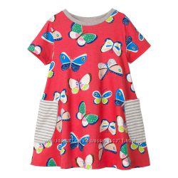 Платье для девочки, красное, зеленое, синее. Различные модели. Лето 2019