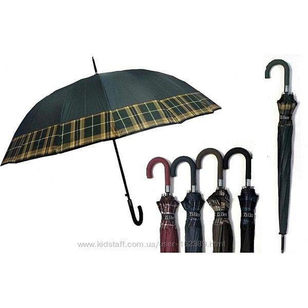 Зонт-трость полуавтомат Ziller 16 спиц