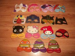 Трансформеры, черепашки, очки-маски