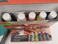 Краски Crelando дрисования акриловые 5 х 100 ml