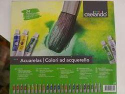 Акварельная краска 24 шт. , 18 мл Crelando