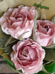 Букет роз с конфетами - комплимент подарок