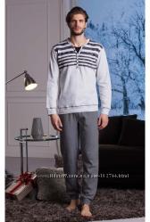 Мужские пижамы Cotonella итальянского производства