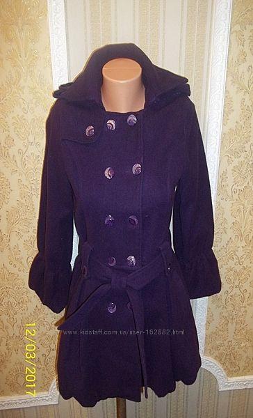 Роскошное модное пальто на девочку или худенькую  женщину