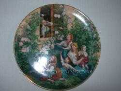 Тарелка, коллекционная, Lilien, Австрия, 3шт