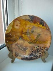 Тарелка, Водяные змеи, Густав Климт, Goebel, Германия