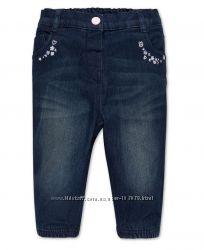 Джинсы и штанишки на подкладке для девчушек с C&A