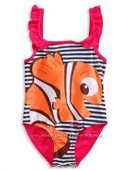 Классный купальник с рыбкой Немо для девчушек с C&A, размеры 104, 110