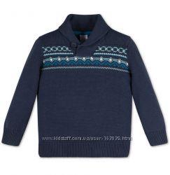 Темно-синий свитер для мальчишек из Германии с C&A, р-ры 110, 116