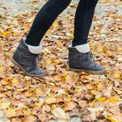 Отличные женские сапожки для холодной весны с немецкого сайта C&A, 24, 5 см