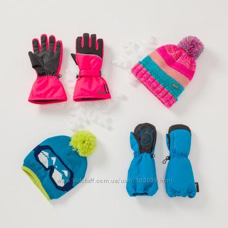 Теплые шапки на флисе для предстоящих морозов, производство Германии, с C&A
