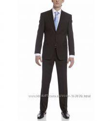 Шикарный темно-коричневый костюм с C&A, размер М
