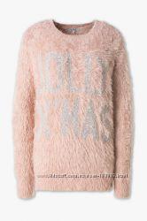 Мохнатый женский свитерок из Германии с сайта C&A, р-ры S, M, L, XL