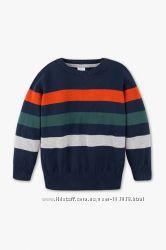 Хлопковый свитерок для мальчишек с немецкого сайта C&A, р-ры 110, 116