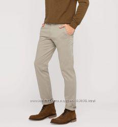 Коттоновые светло-серые штаны из Германии с сайта C&A, р-р 36-34