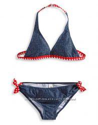 Купальник под джинс для девушек с C&A, отличное качество и низкая цена