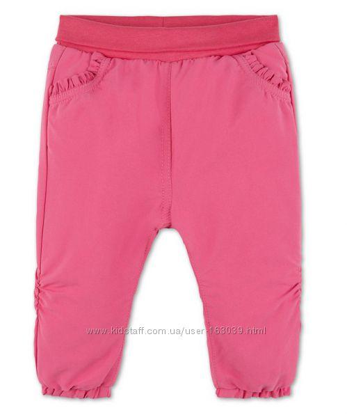 Симпатичные штаны на флисе для малышек с немецкого сайта C&A, р-р 80