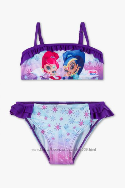 Бесподобный купальник для девчушек с немецкого сайта C&A, размер 92
