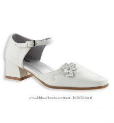Белые открытые туфли с немецкого сайта C&A, размер 37
