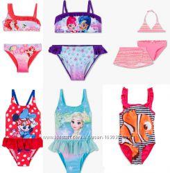 Очаровательные купальники для девчушек, сдельные и раздельные
