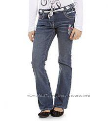 Немецкие джинсы моей дочки в отличном состоянии, размер 152