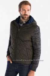 Немецкая демисезонная куртка, имитация жилетки и свитра, р-ры S, L, XL