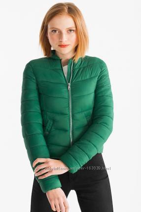 Немецкая легкая утепленная демисезонная куртка с C&A, размер М