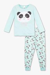 Флисовая пижамка с любымыми пандочками с сайта C&A, р-ры 116, 122, 128