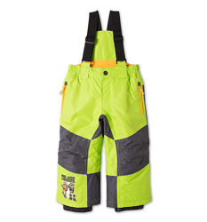 Супермодные лыжные штаны с черепашками для мальчика фирмы RODEO, р-р 92, 98