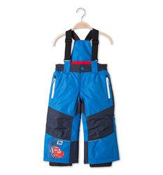 Суперовые лыжные штаны с тачками для мальчишек с C&A, р-ры 92, 98